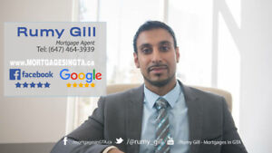 Mortgage..Purchase..Refi..Need Fast Cash in GTA...Call Rumy Gill