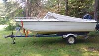 Handymsn Special Boat Motor and Trailer