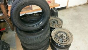 Michelin X-ice winter tires and steel rims $400 firm