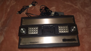For sale, intellvision video game system complete.