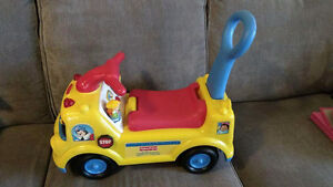 Fisher price ride-on school bus Peterborough Peterborough Area image 1