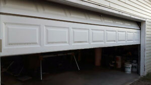 "7' x 16"" Insulated Steel Garage Door"