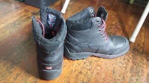 PAJAR STEEL TOE BOOTS FULL LEATHER