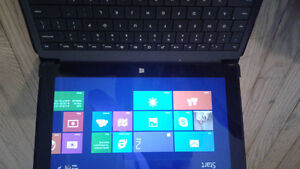 Microsoft surface tablet looks so new with leather cover