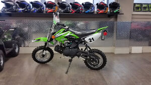 KIDS 110 DIRT BIKE SEMI AUTO SALE PRICE