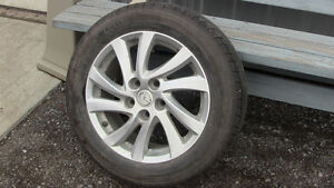 SUMMER TIRES Plus ORIGINAL ALLOYS FOR MAZDA 3