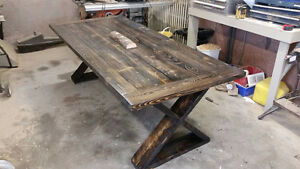 Reclaimed Wood Dinning Table