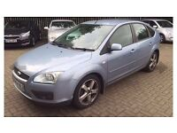 Ford Focus diesel 2005 54 reg in superb condition & top spec xenon lights leather heated seats more