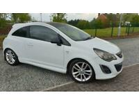 2012 62 VAUXHALL CORSA 1.2 LIMITED EDITION 3 DOOR WHITE PETROL MANUAL 67,000