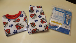 3T  Paw Patrol pajama set..BRAND NEW IN PACKAGE