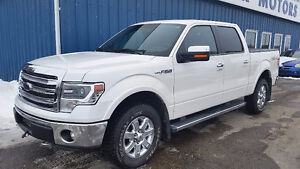 2014 Ford F-150 SuperCrew Lariat 4x4 Pickup Truck