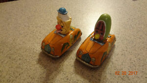 2  1950s  Marx toy cars