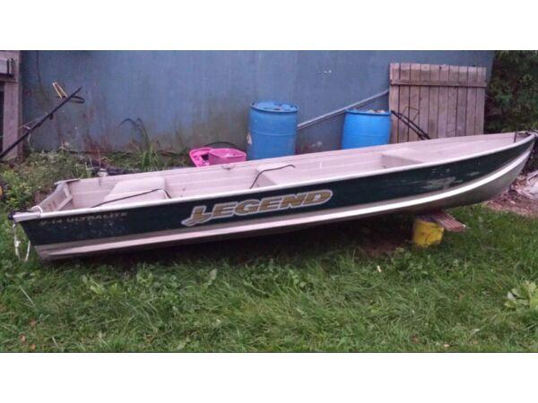 2003 Legend Boats Ultralight 14
