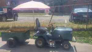 Lawn tractor and utility cart Cambridge Kitchener Area image 1