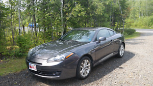 2008 tiburon gs coupe with sport packadge