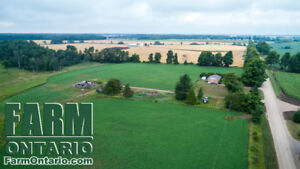 100 Acres in Huron County: 