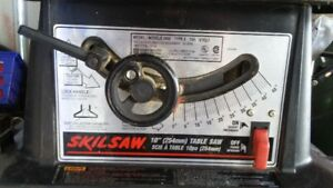 "Skilsaw 10"" Table Saw"