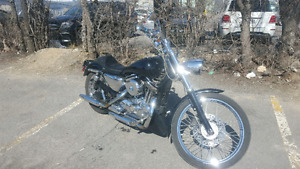 harley 2004 s & s motor and carb 10k in parts added  chrome ., c