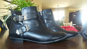 Real leather aldo ankle boots