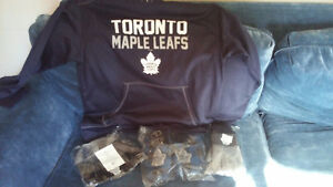 Toronto maple leafs items new with tags