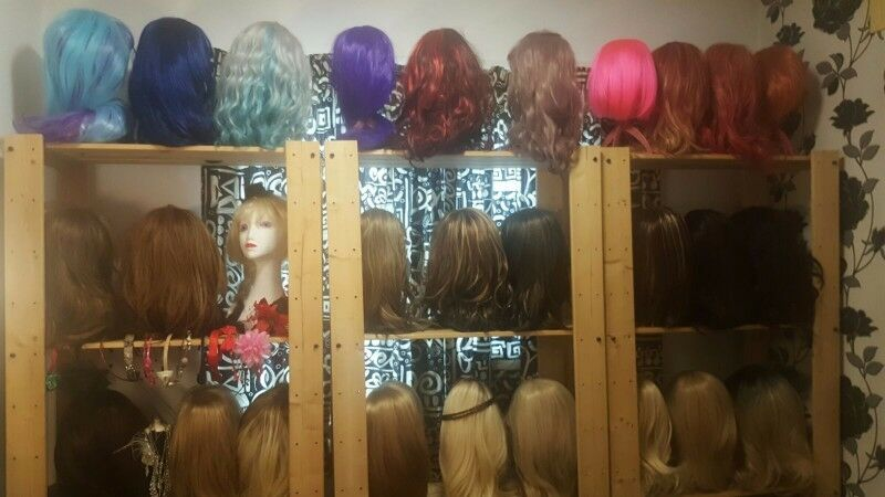 Large Selection of Wigs for Sale
