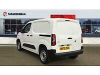 2020 Vauxhall COMBO CARGO Combo L1 Diesel 2300 1.5 Turbo D 100ps H1 Edition Van