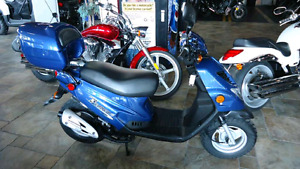 2008 E-ton Beamer III scooter