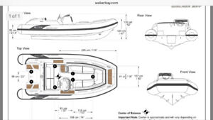 Walker Bay Generation 450 Dingy / Inflatable