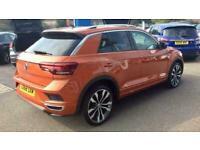 2019 Volkswagen T-Roc 1.5 TSI R-LINE EVO DSG Automatic Hatchback Petrol Automati