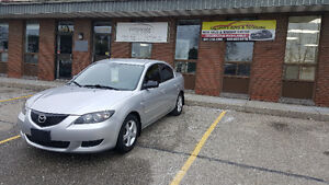 2004 Mazda 3 LOW LOW KM !!! SAFETY AND E-TEST !!