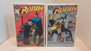 Robin DC comics 1 of 5 and 2 of 5 West Island Greater Montréal image 1