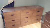 Free: 9 drawer dresser. No holds, pickup only