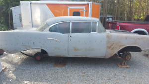1957 Chevy BelAir Coupe  solid project car