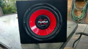 Sony X-PLOD  SUBWOOFER