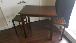 Bistro High table and chair set