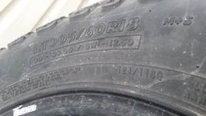 33×R18 LT 10P Tread@6/32nds for all 4 tires.