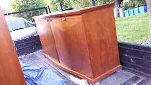 Teak hutch and side board for sale or trade