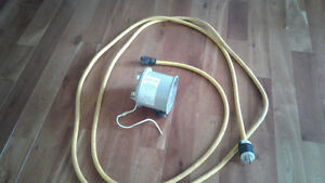 Generlink portable generator plug in with 20ft cord