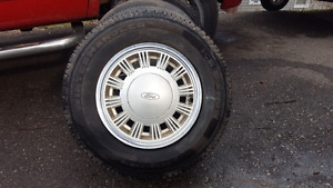 Set of mustang wheels from 89 LX hatchback
