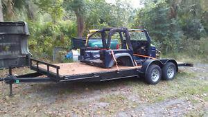 2016...  20' Equipment/ car hauler! !!!