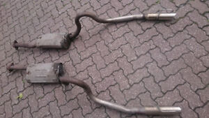 1999 a 2004 Exhaust ford mustang gt. Tail pipe chrome, muffleur.