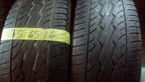 R16 all season pairs , single and spare tires