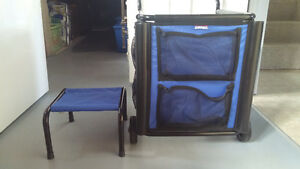 Car wash cart & stool