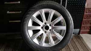 Never used 17 inch Rim and Tire (1) Windsor Region Ontario image 1