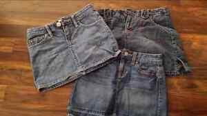 Girls size 8 skirts