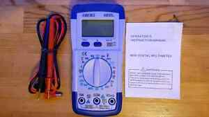 Digital Multimeter Voltage Volt Amp Meter