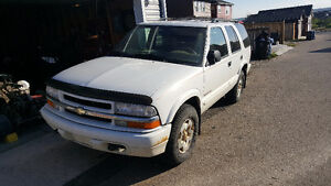 2000 Chevrolet Trailblazer SUV, Crossover, Loaded 4x4