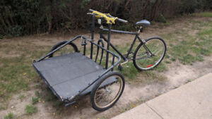 Tri-Cycle with front Platform VERY COOL!