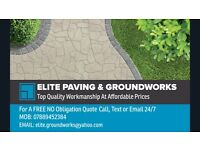 Elite paving, and groundworks