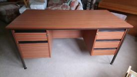 Now half price! Good solid 5-drawer desk